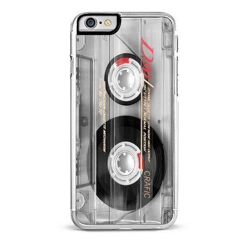 Vintage Clear Cassette iPhone 6/6S Case