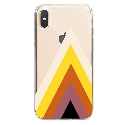 70s Pattern iPhone Xs / X case