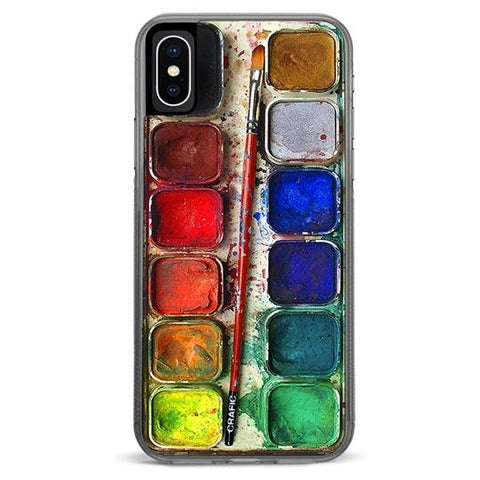 Watercolor Set iPhone Xs / X Case