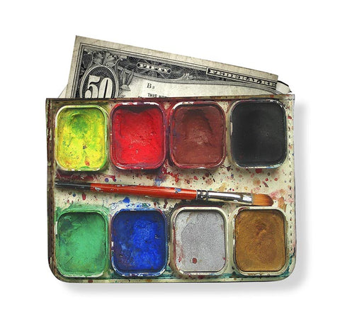 Watercolor Set Artist Wallet