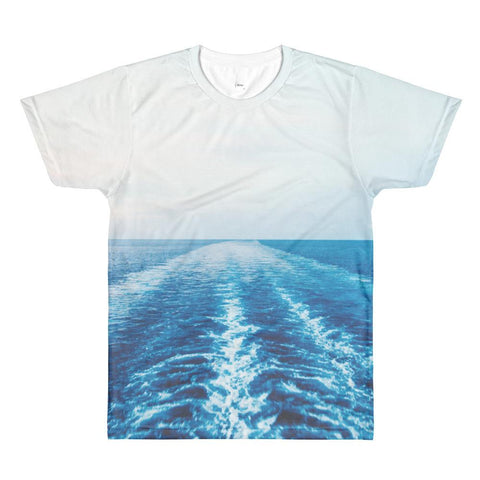 WAVES MEN'S CREWNECK T-SHIRT