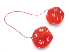 20 Sided Dice Danglers