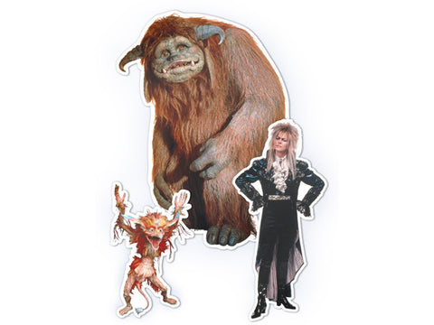 Labyrinth Character Magnet Set