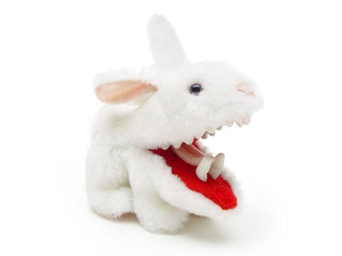 Mini Rabbit with Big Pointy Teeth Plush