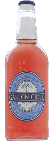 12 x 500ml Garden Cider - Blueberry 4%