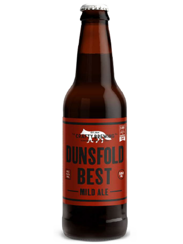 12 x 500ml Crafty Brewing Co - Dunsfold Best Chestnut Ale 4%
