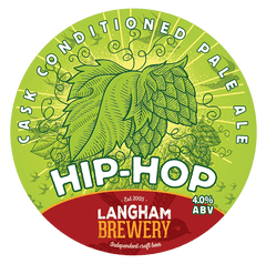 Langham Brewery - 12 x 500ml  -  Hip Hop 4%