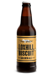 12 x 500ml Crafty Brewing Co - Loxhill Biscuit Golden Ale - 3.8%