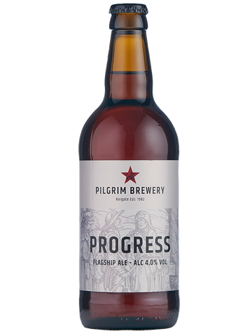 Pilgrim Brewery - 12 x 500ml  - Progress Flagship Ale 4%