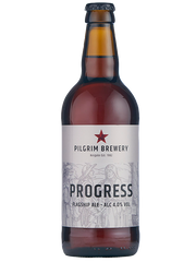 12 x 500ml Pilgrim Brewery - Progress Flagship Ale 4%