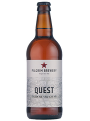 12 x 500ml Pilgrim Brewery - Quest Golden Ale 4.3%