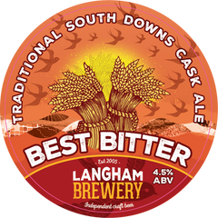 12 x 500ml Langham Brewery - South Downs Best Bitter 4.5%