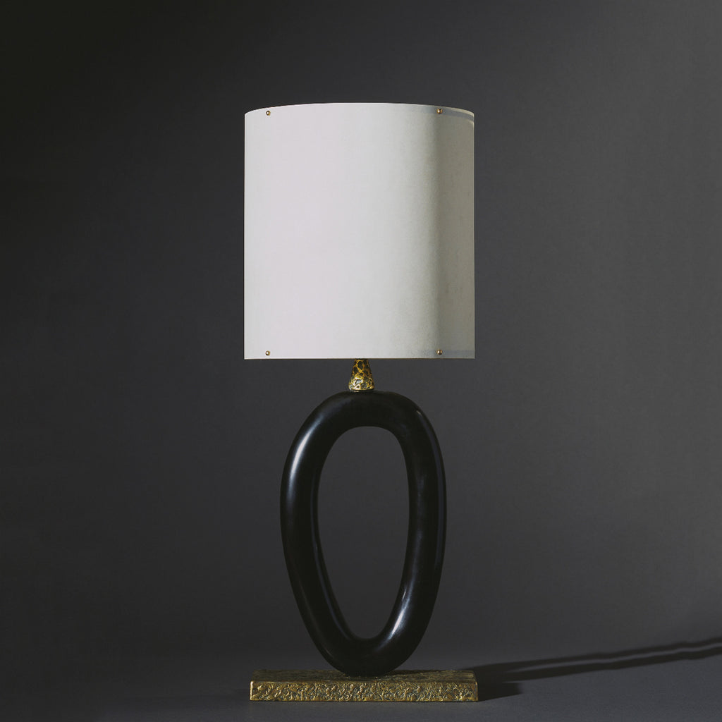 Twenty First Gallery Anne Vincent Corbiere Ellipse Table Lamp Light