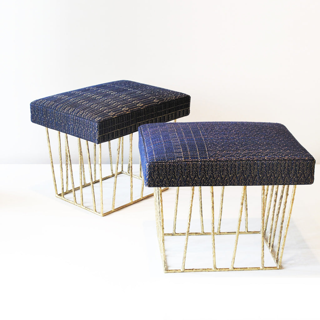 Twenty First Gallery Anne Vincent Corbiere Cage Stool