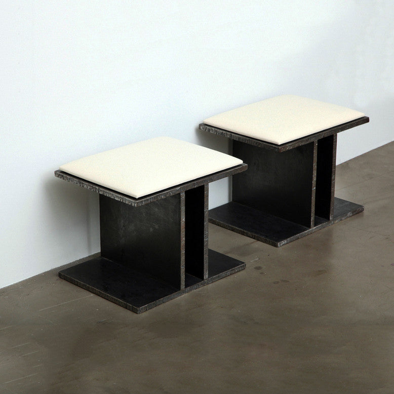 Twenty First Gallery Bernar Venet Steel Stools