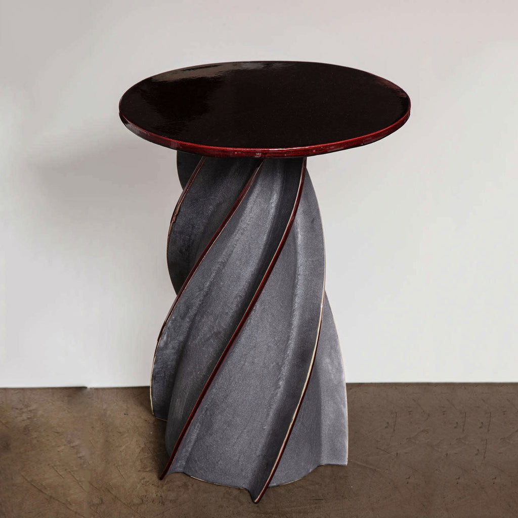 Twenty First Gallery Francois Salem Twist Side Table