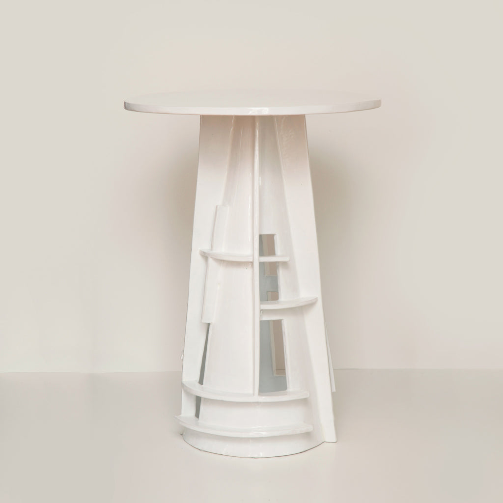 Twenty First Gallery Francois Salem Blanc Side Table