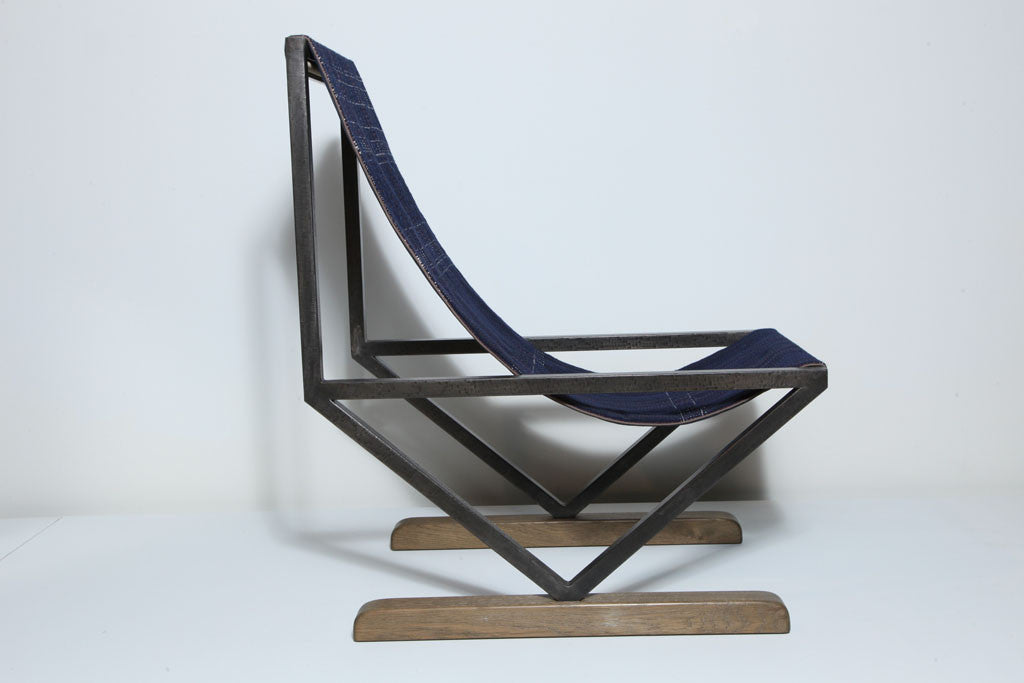 Twenty First Gallery Anne Vincent Corbiere Chambery Sling Chair