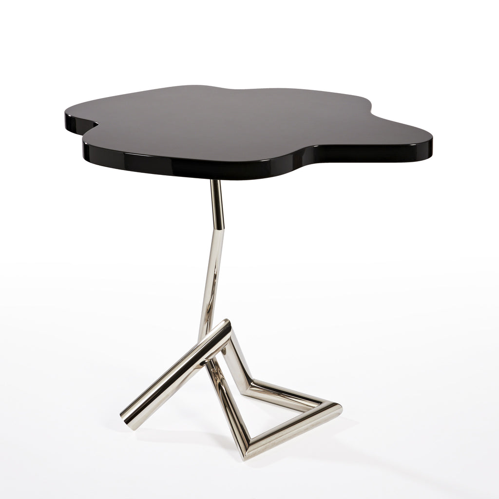 Twenty First Gallery Hubert Le Gall Black Storm Side Table