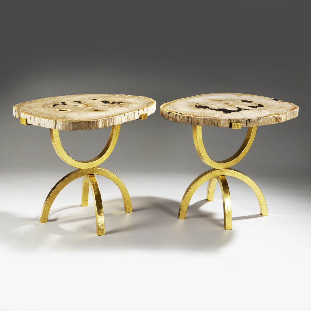 Twenty First Gallery Hubert Le Gall Arbe Petrifie Side Table
