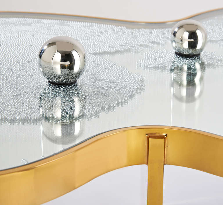 Twenty First Gallery Hubert Le Gall Frissons D'ore Low Coffee Table
