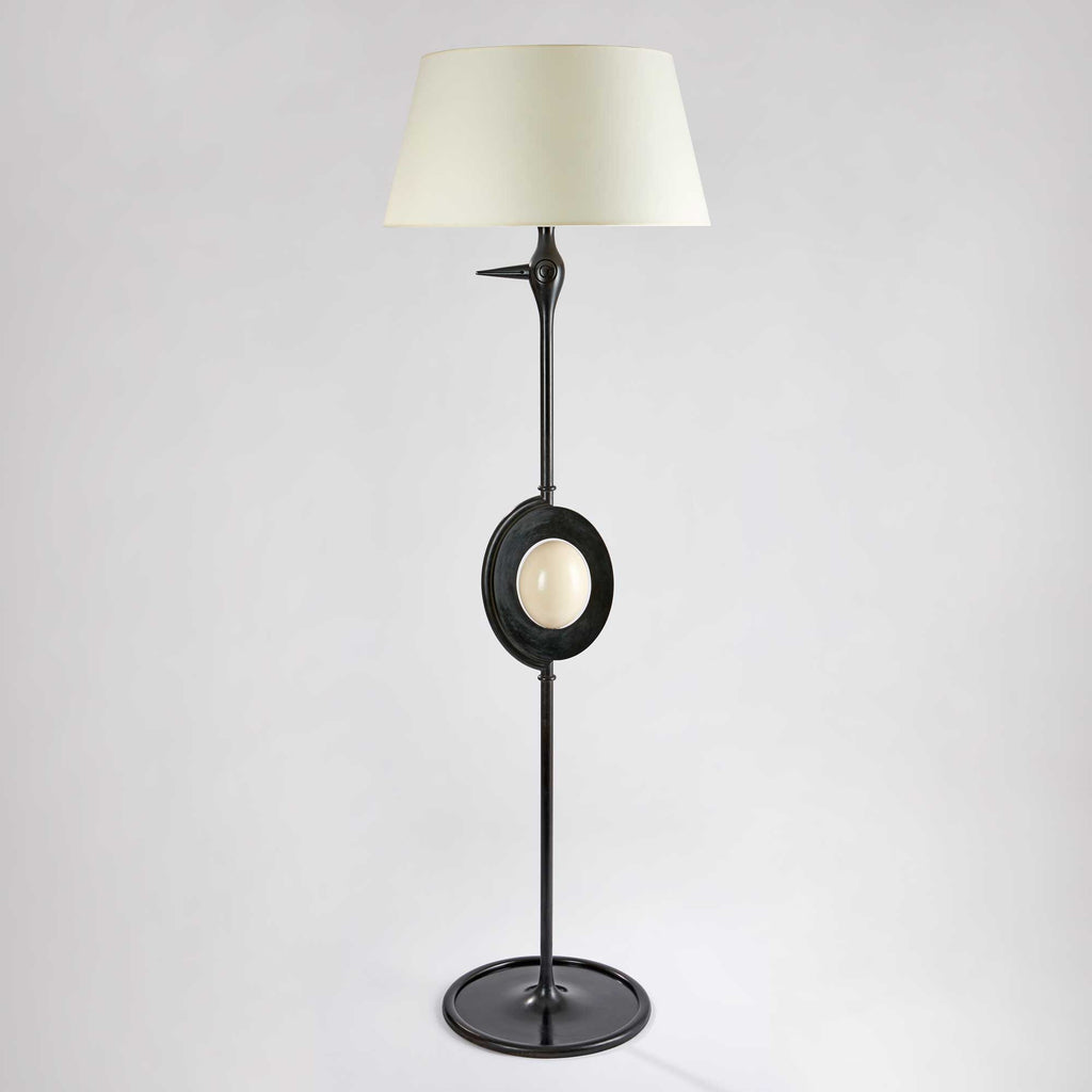 Twenty First Gallery Hubert Le Gall Autruche Floor Lamp Lighting