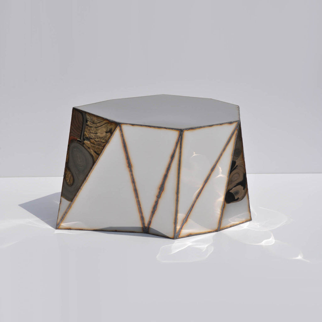Twenty First Gallery Julian Mayor Mirror Side Table