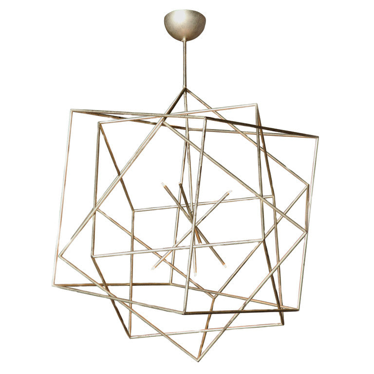 Twenty First Gallery Hubert Le Gall Polyedres Chandelier Pendant