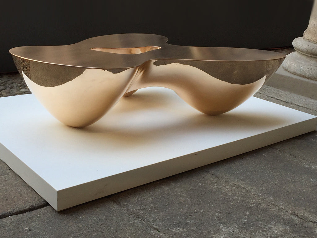 Twenty First Gallery Emmanuel Babled Quark Bronze Coffee Table