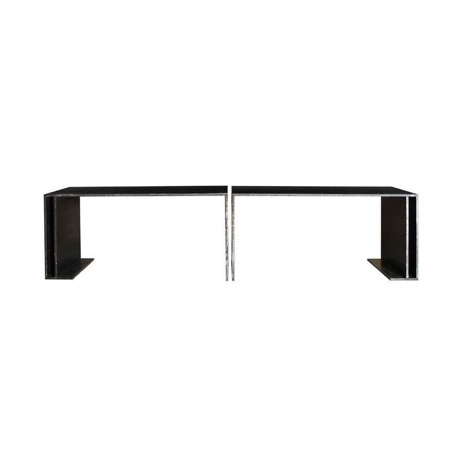 Twenty First Gallery Bernar Venet Steel Console