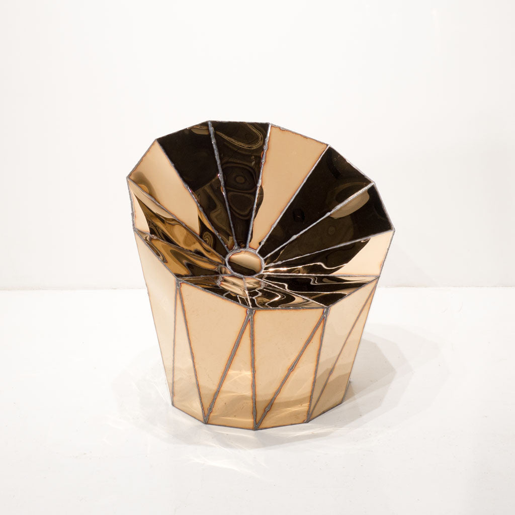 Twenty First Gallery Julian Mayor Solaris Chair Pink Gold Steel