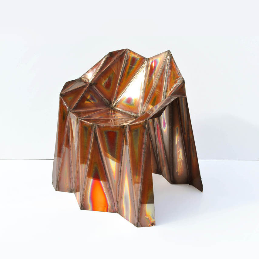 Twenty First Gallery Julian Mayor Fernando Copper Chair