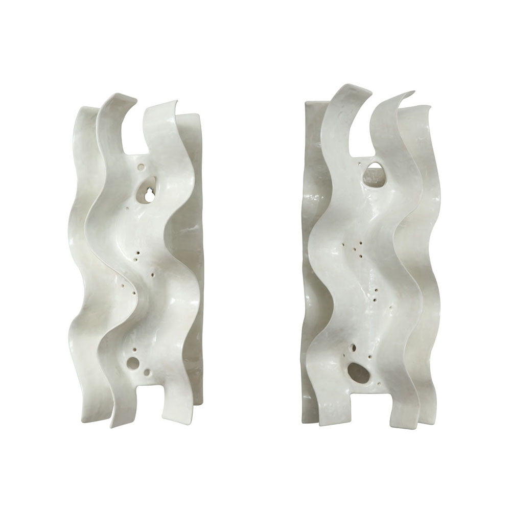 Twenty First Gallery Francois Salem Vagues Sconce Wall Light