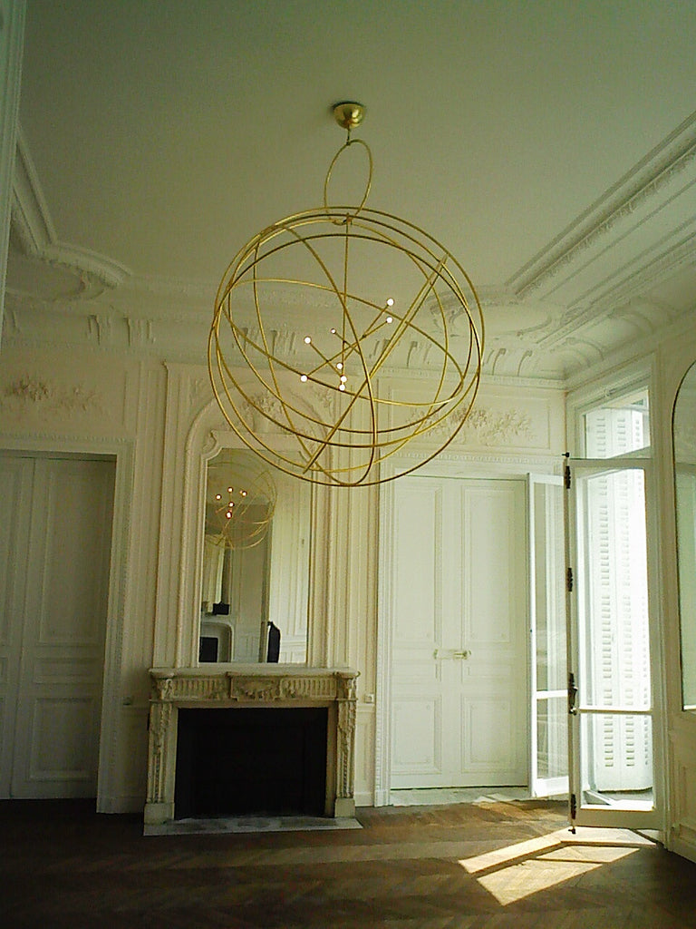 Twenty First Gallery Hubert Le Gall Astrolabe Chandelier Pendant Lighting