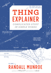 cover for thing explainer book by randall munroe