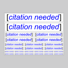 Citation Needed Sticker Pack