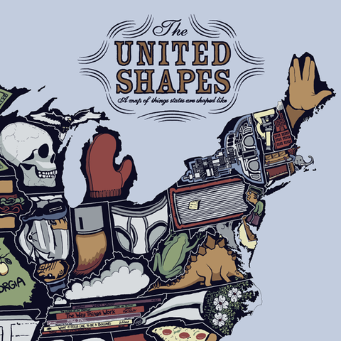 United Shapes Poster