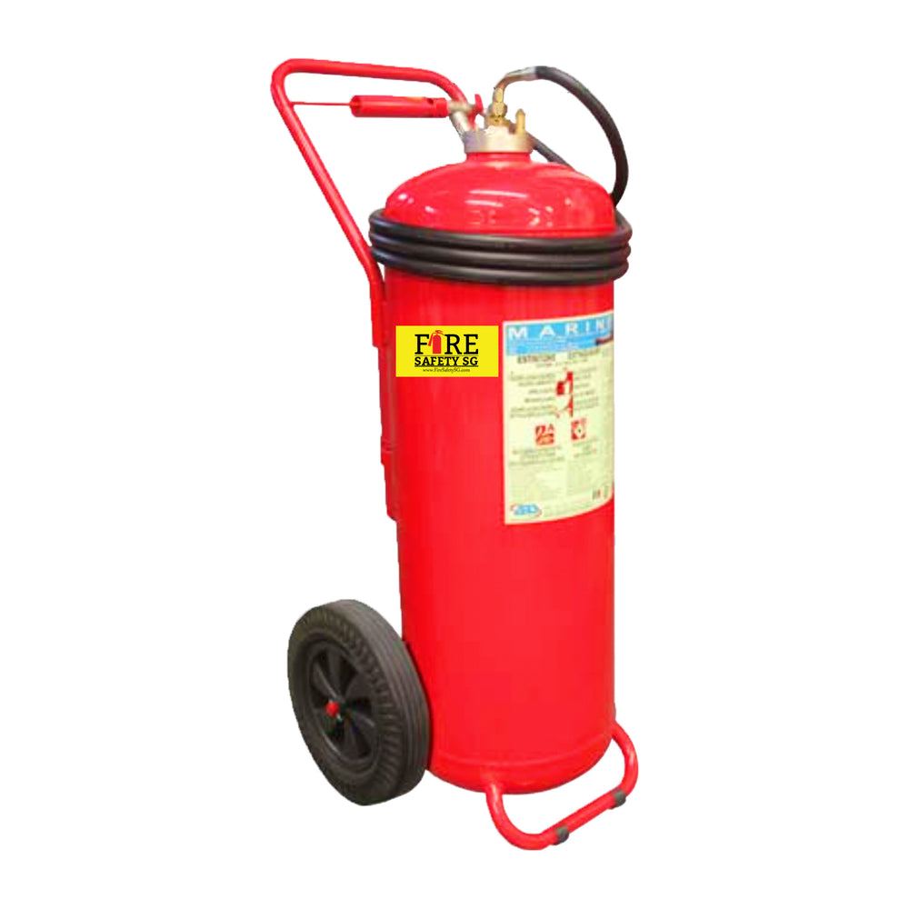 150L Foam Trolley Marine Fire Extinguisher