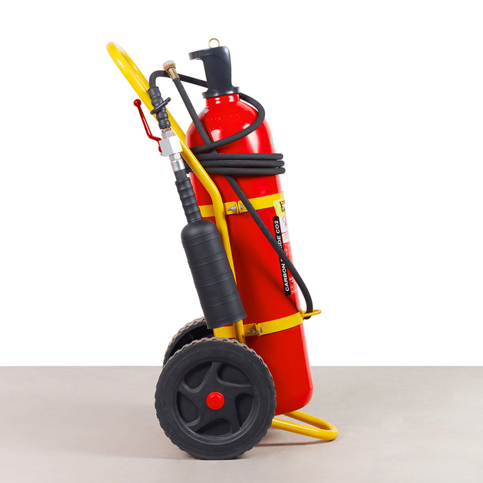 50KG ABS CO2 Wheeled Fire Extinguisher