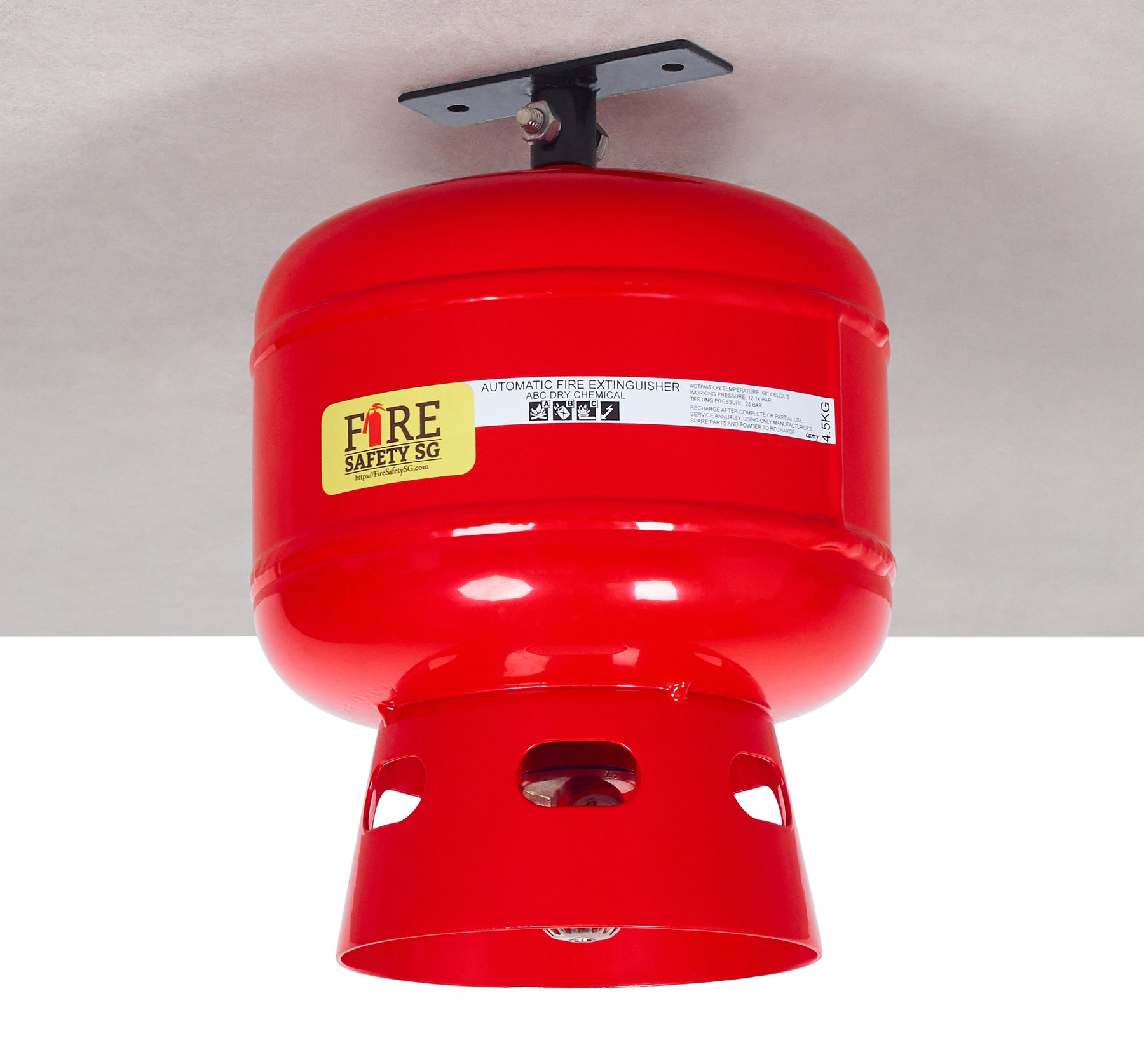 4.5KG AB Dry Powder Automatic Fire Extinguisher