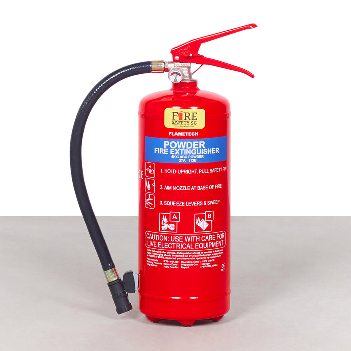 4KG Dry Powder Marine Fire Extinguisher