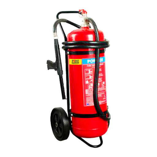 50KG ABC Stored Pressure Trolley Fire Extinguisher