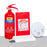 Home Fire Safety Kit (AB Powder + Fire Blanket + Smoke Detector 1 Year)