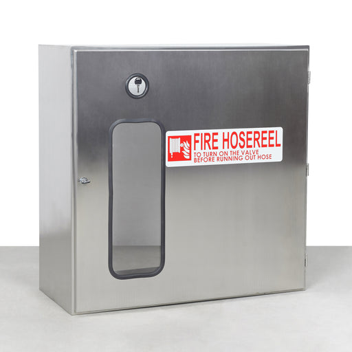 Fire Hose Reel Stainless Steel Cabinet