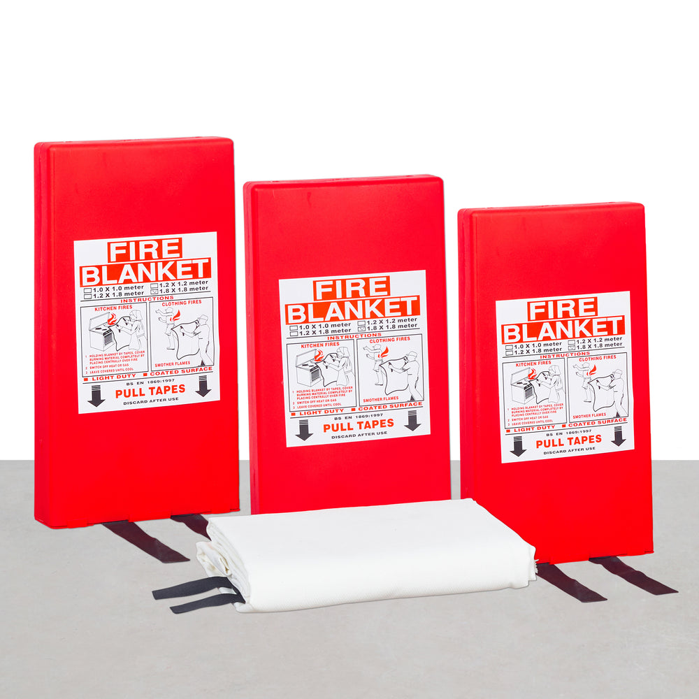 Fire Protection Blanket (3pcs Fire Blanket 1.2m x 1.8m)