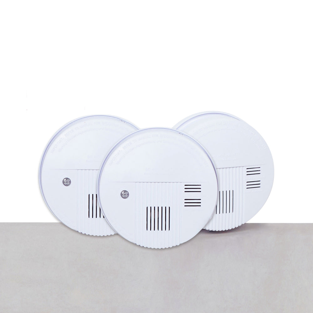 Photoelectric Smoke Detector (3pcs)