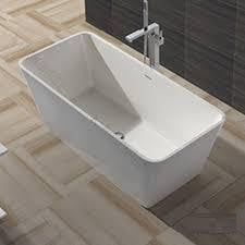 "Tub # XBT1244 Solid Surface Matt Finish Bathtub Width 57.48"" X Depth 26.77"" Height 20.87"""