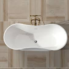 "Tub # XBT1245 Solid Surface Matt Finish Bathtub Width 62.99"" X Depth 27.17"" Height 21.26"""