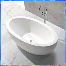 "XBT1246 Solid Surface Matt Finish Bathtub Width 74.02"" X Depth 40.55"" Height 22.05"""