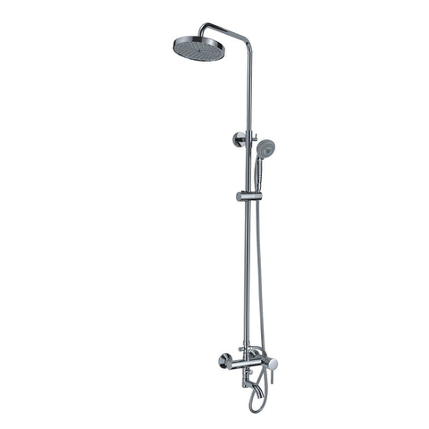 XSF109-CP Sottile Carino Bath Shower Faucet Chrome Plated